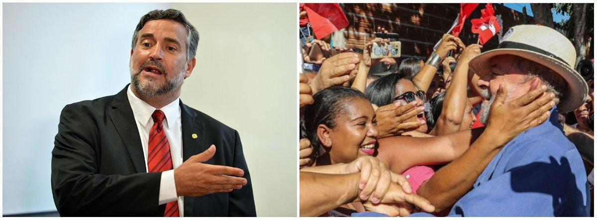 """Pimenta: """"no RS, Lula vai se reencontrar com a história"""""""