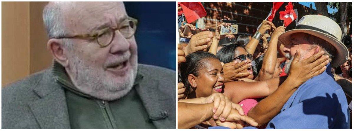 Kotscho: caravanas de Lula mostram a divisão Norte-Sul do eleitorado