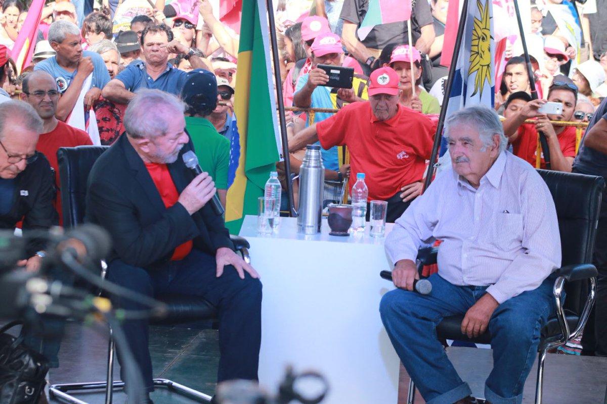 """Mujica sobre a esquerda: """"sem unidade não há poder"""""""