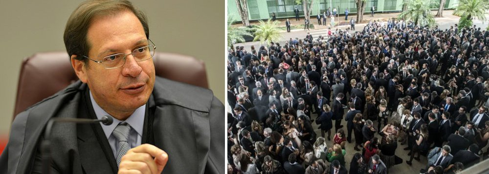 Juiz não pode fazer greve em nenhuma circunstância, diz ministro do STJ