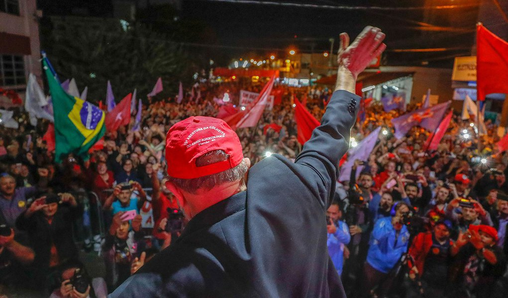 Lula: 'tem um canalha esperando pra gente dar uma surra nele. Não vamos'