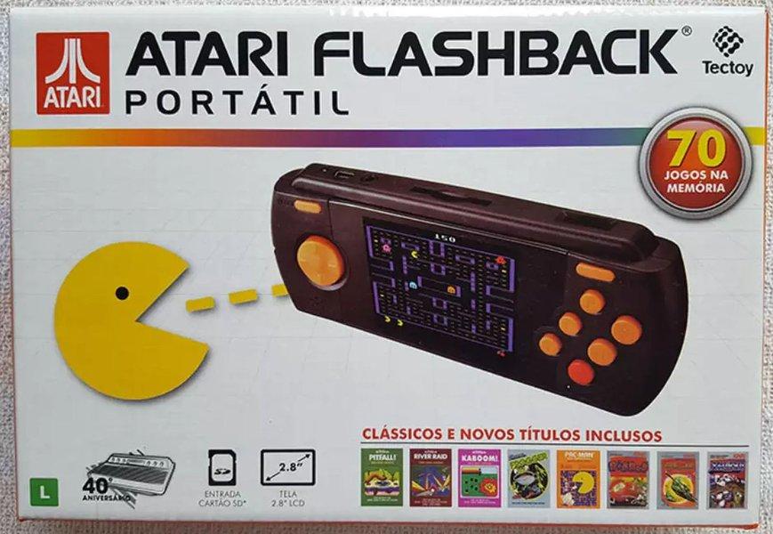 Atari Flashback Portátil traz clássicos dos games históricos em formato portátil