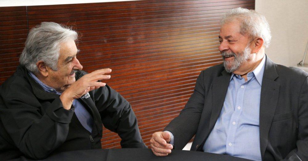 Lula e Mujica terão encontro na fronteira com o Uruguai