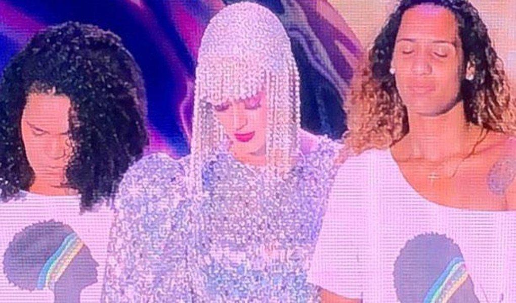 Kate Perry homenageia Marielle em show no Rio