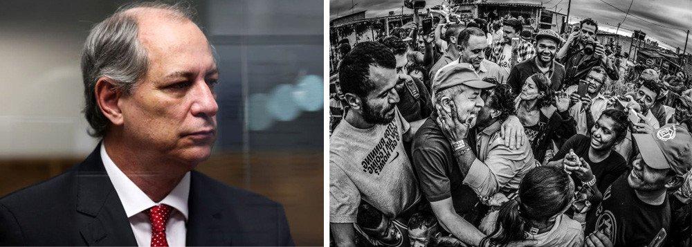 """Ciro: prisão de Lula """"nem remotamente"""" seria boa para o País"""