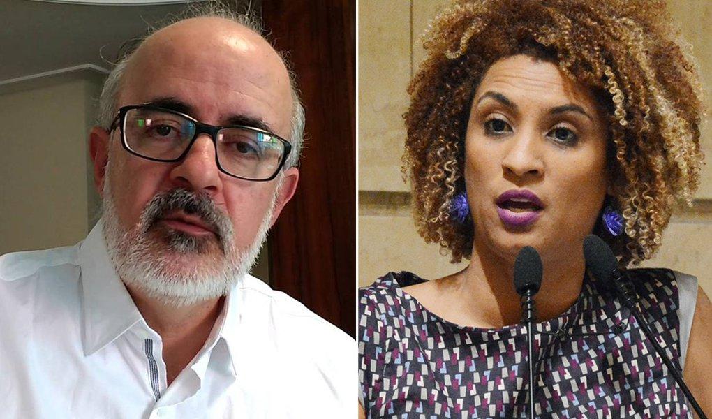 Alexandre Motta defende Marielle: quem cala sobre seu corpo, consente na sua morte