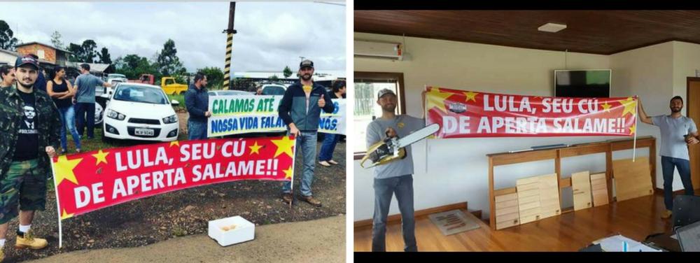Agressores da caravana são eleitores de Bolsonaro