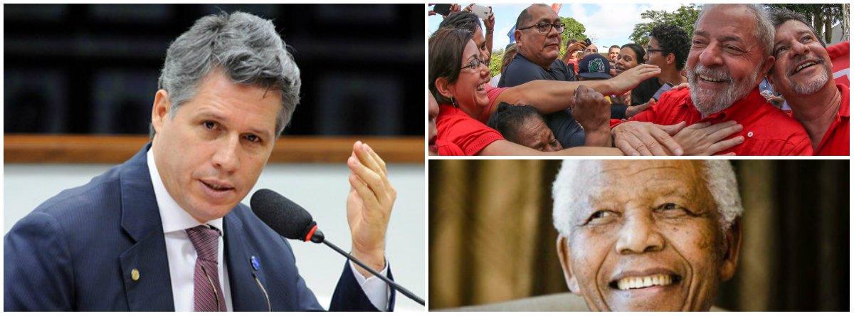Teixeira: Lula e Mandela são duas vidas dedicadas à igualdade de direitos