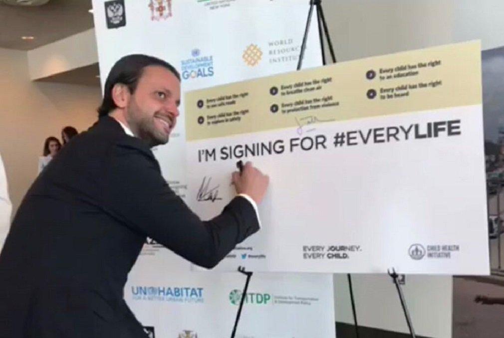Baldy representa Brasil em Fórum sobre Desenvolvimento em Nova York