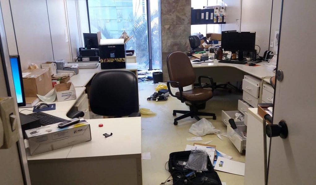 Alvo de investigação da PF, Ministério do Trabalho tem salas arrombadas