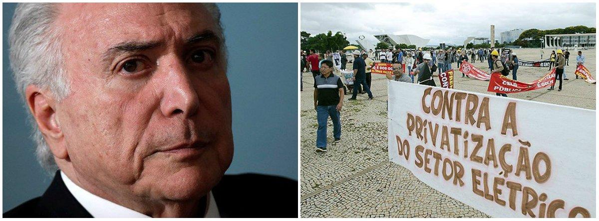 Contra a privatização, trabalhadores da Eletrobras articulam greve nesta terça