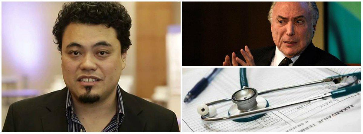 Sakamoto: mortalidade infantil cresce enquanto governo Temer corta gastos em saúde