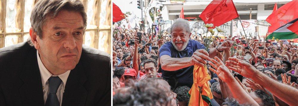 Ex-embaixador chileno no Brasil defende manifesto pró-Lula