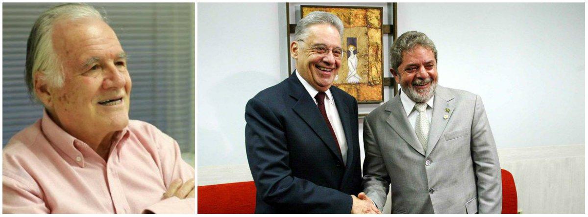 """Mino Carta disseca FHC e Lula: """"o príncipe e o plebeu"""""""