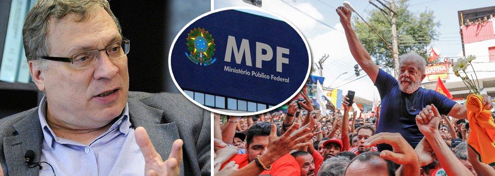Aragão: MP que combate Lula reflete classe média que age pelo fígado