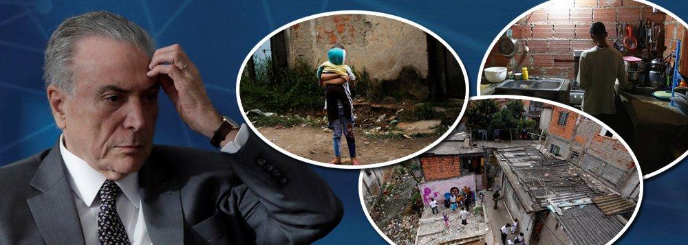 No país do golpe, extrema pobreza voltou aos níveis de 12 anos atrás