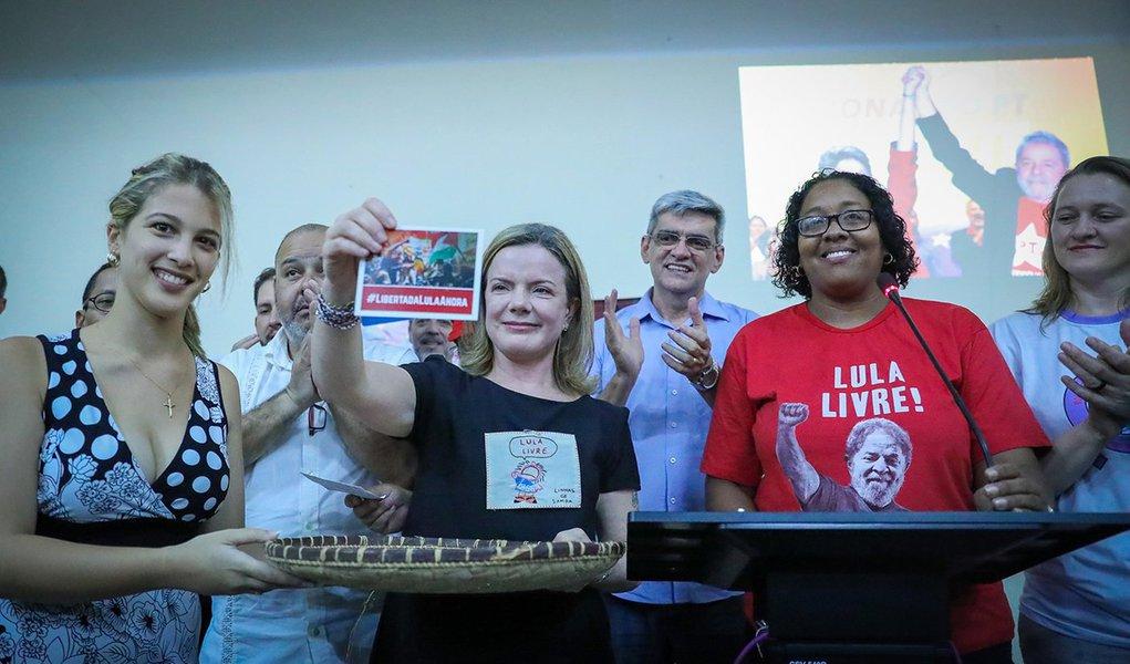 Em Cuba, culto ecumênico pede Lula Livre