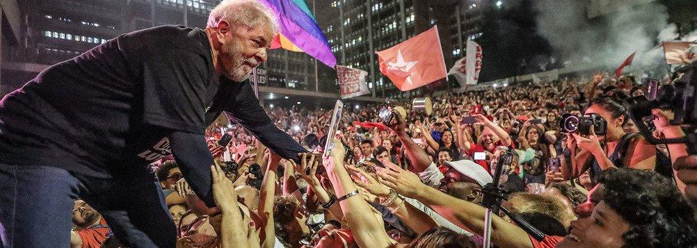 Lula: um Brasil para todos é um país melhor que esse de hoje e ele vai voltar