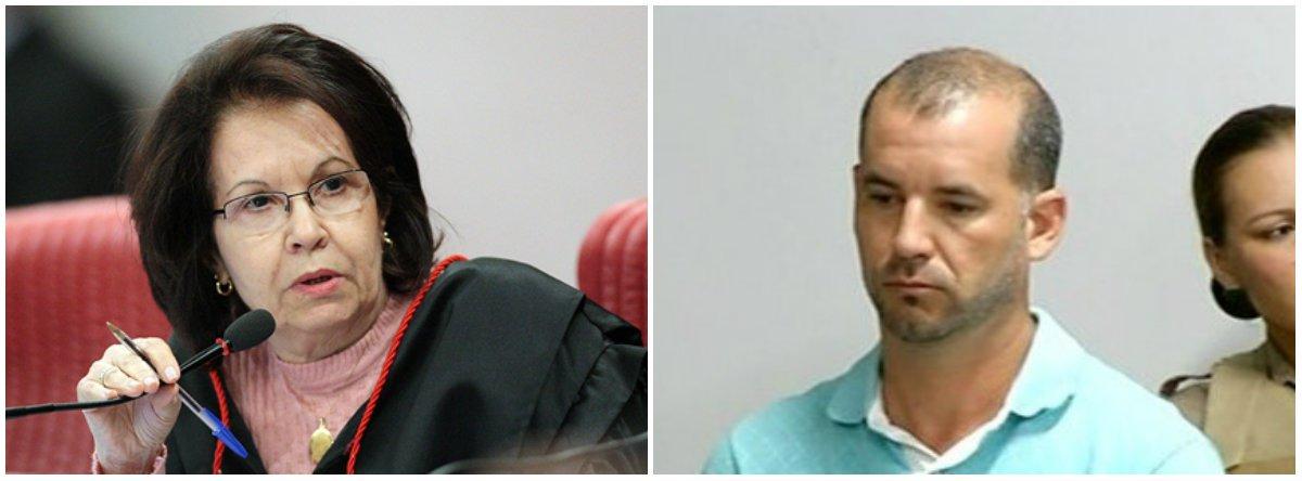Laurita Vaz, como plantonista, solta preso condenado a 30 anos por assassinato