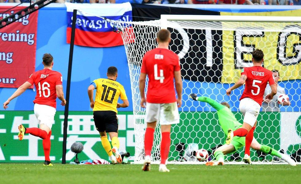 Bélgica fica em terceiro num jogo com cara de amistoso