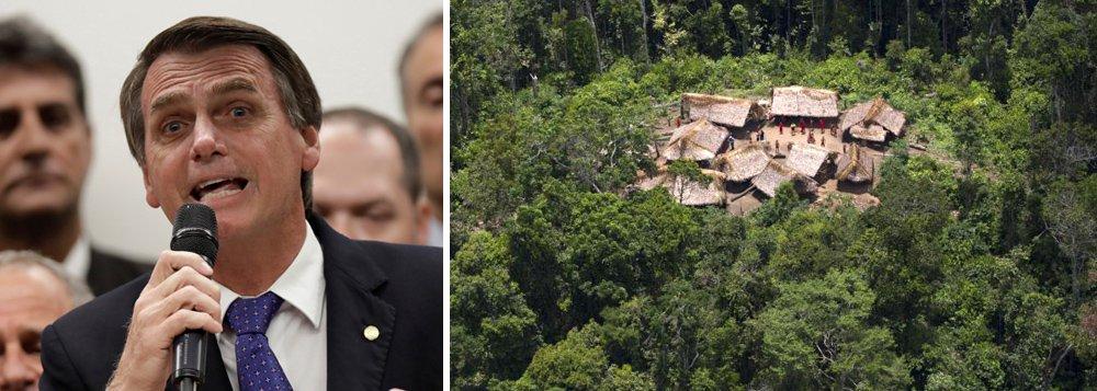 Bolsonaro promete liberar garimpo em áreas quilombolas e indígenas