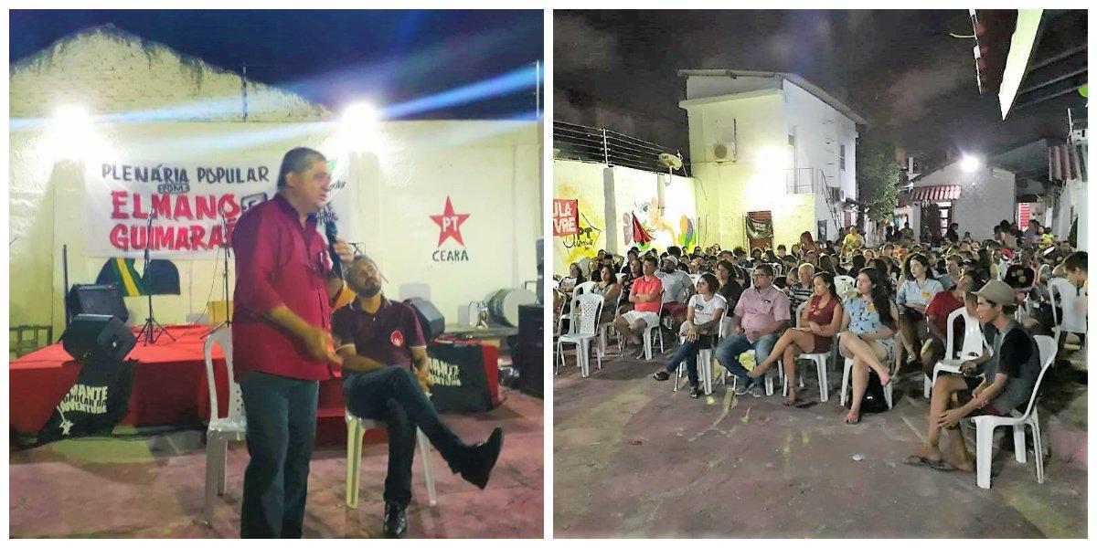 Pré-campanha de Guimarães e Elmano recebe apoio da juventude do Levante Popular