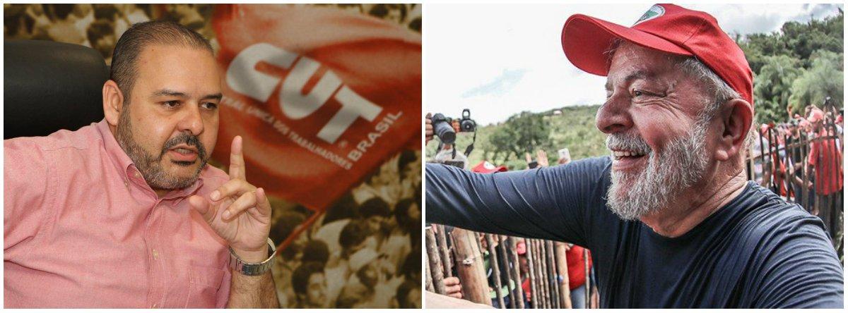 CUT: 'Candidatura de Lula vai ser registrada por milhares de pessoas'