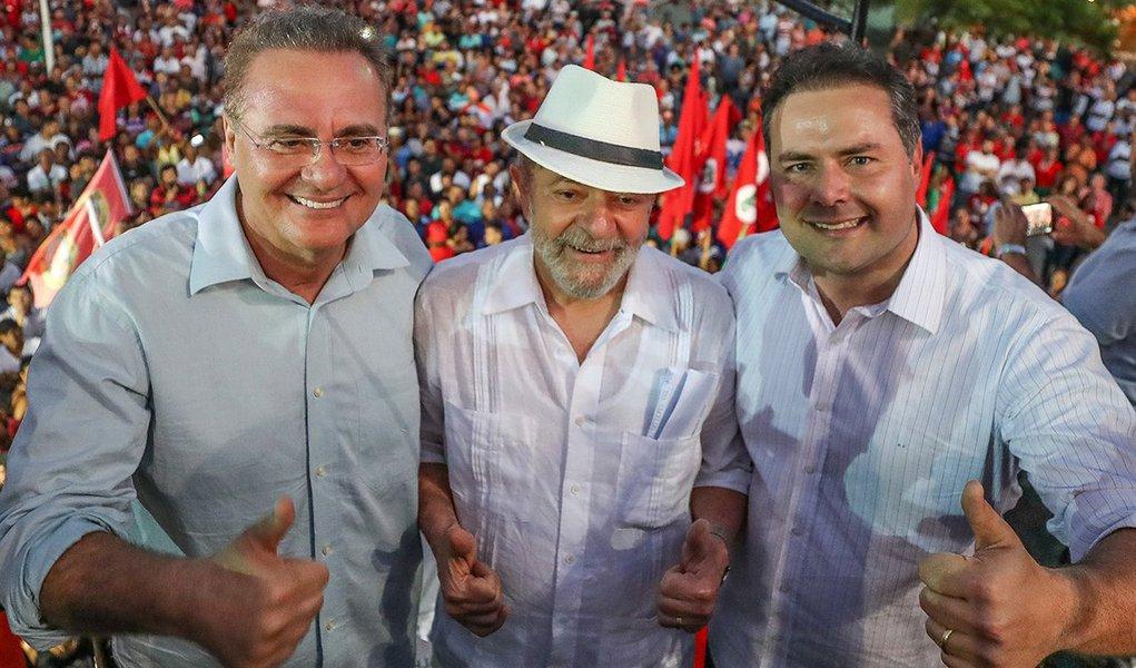 Contra Meirelles, Renan Calheiros diz que apoia Lula como candidato