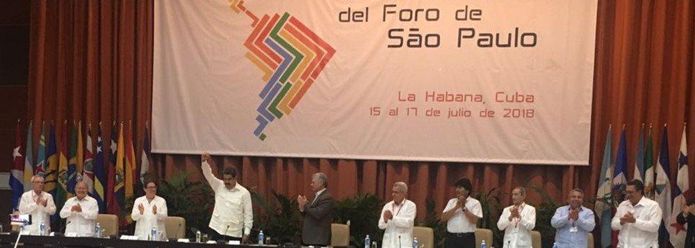 Plano de Ação do Foro de São Paulo define campanhas pela libertação de Lula