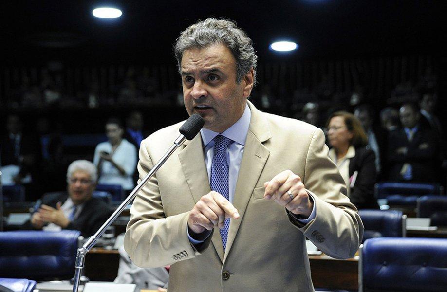 Líder do golpe, Aécio deve concorrer a deputado federal