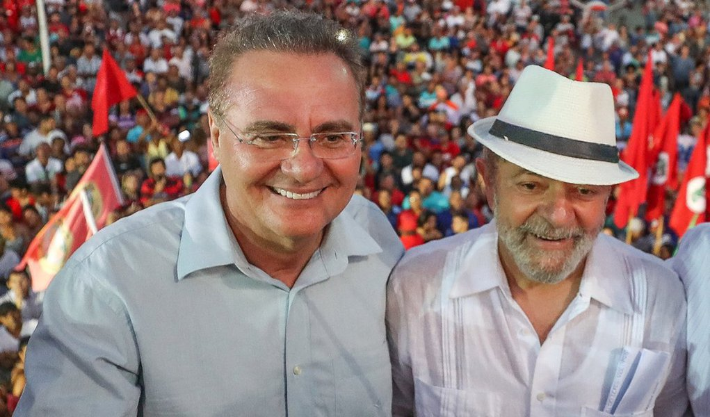 Renan: existem provas contra os algozes de Lula, não contra Lula