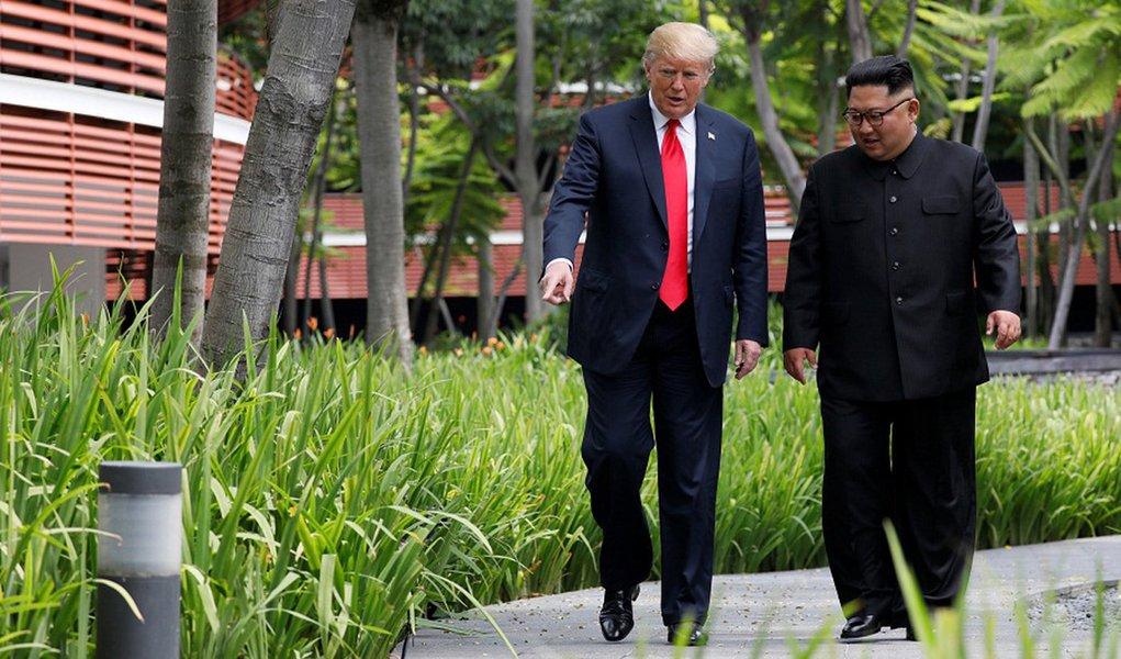 "Trump divulga carta de Kim Jong-un e aponta ""grande avanço"" em diálogo"