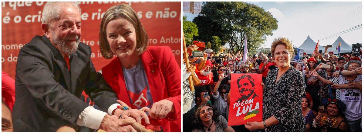 Dilma e Gleisi vão a Cuba expor situação de Lula no Foro de São Paulo