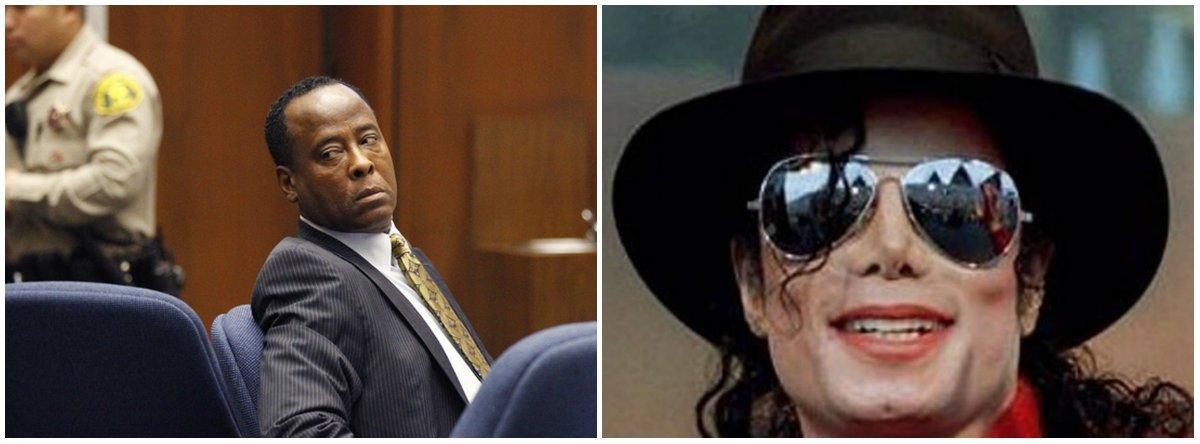 Michael Jackson foi 'quimicamente castrado' pelo pai, diz o médico Conrad Murray