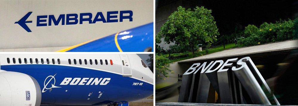 Aprovação do negócio entre Embraer e Boeing depende de BNDES