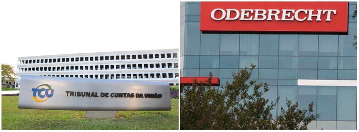 TCU chancela acordo de leniência da AGU e CGU com Odebrecht
