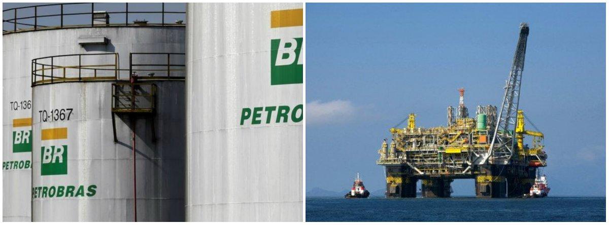 Exportação de petróleo cai 53,8% em um ano