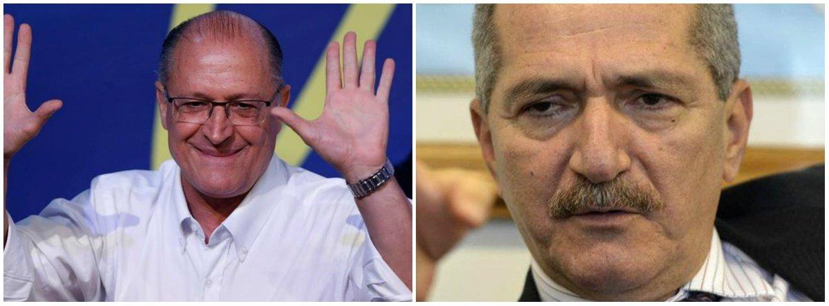 Alckmin sonda Rebelo para ser seu vice