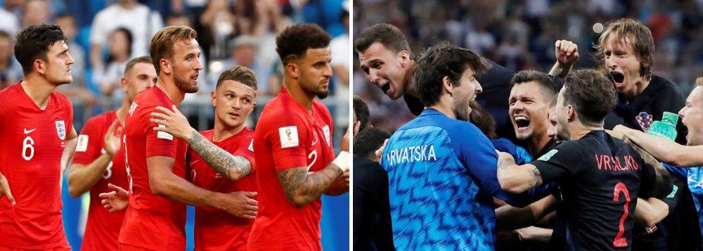 Inglaterra ou Croácia: quem pega a França na final?