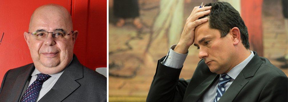Tardelli: Moro pode ser enquadrado no Código Penal