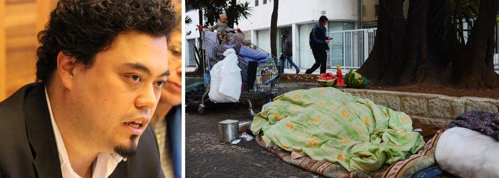 Mortes no frio: toleramos vidas pobres desde que não façam barulho ao sair, diz Sakamoto