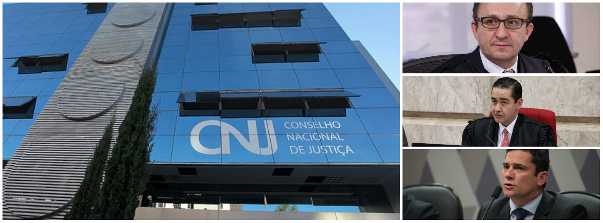 CNJ abre procedimento para apurar conduta de Moro e desembargadores do TRF-4