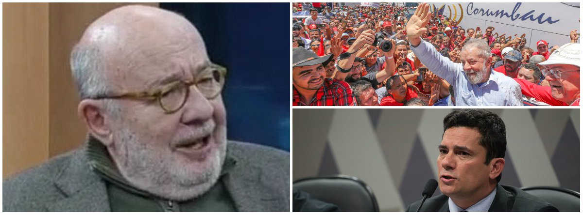 Kotscho: nas redes sociais, a disputa para presidente agora é entre Lula e Moro