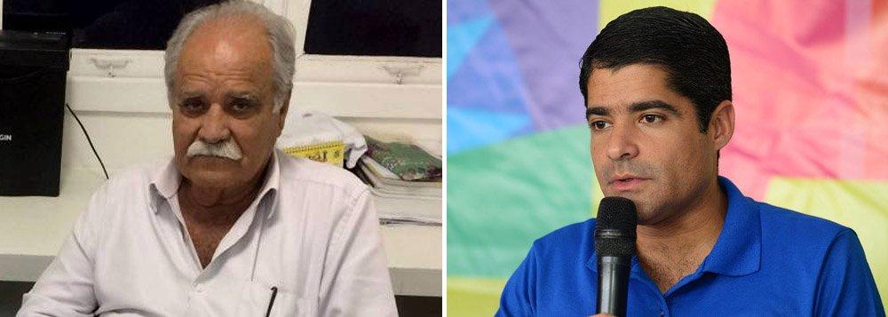"""Pré-candidato do MDB, Santana chama Neto de """"ingrato"""""""