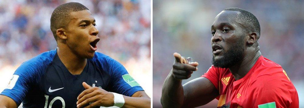 Começam as semifinais da Copa: França e Bélgica