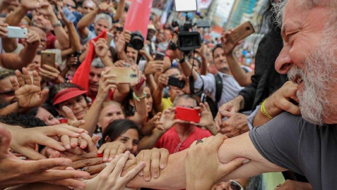 Ato Lula Livre em Fortaleza marcado para a Praça da Bandeira