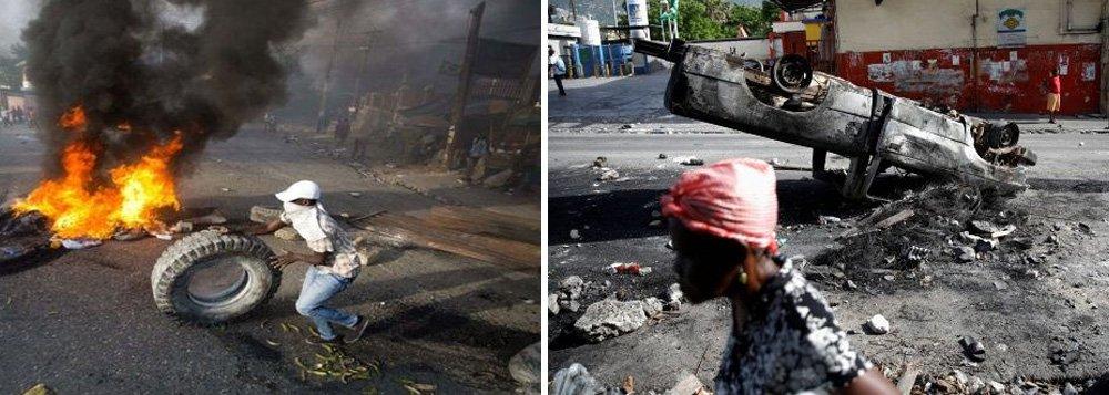 Haiti vive dias de protesto devido ao aumento no preço dos combustíveis