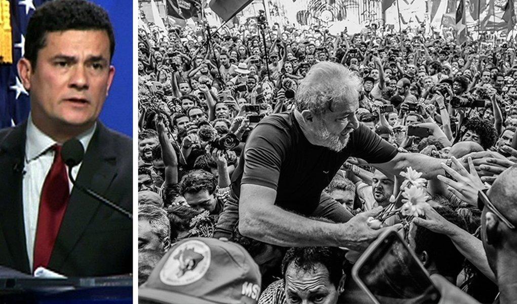 Moro considera-se o dono de Lula, um escravo a seu dispor