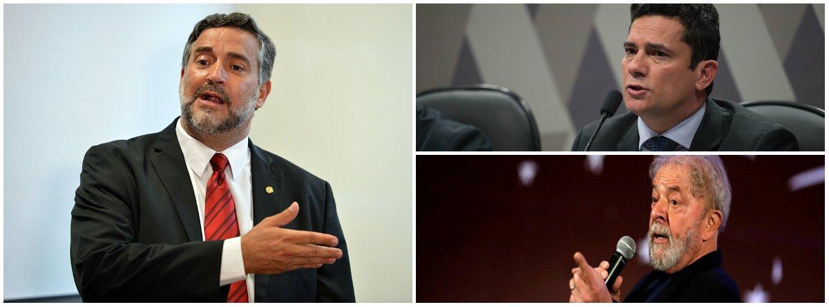 Pimenta: Lula é vítima de mais uma aberração jurídica