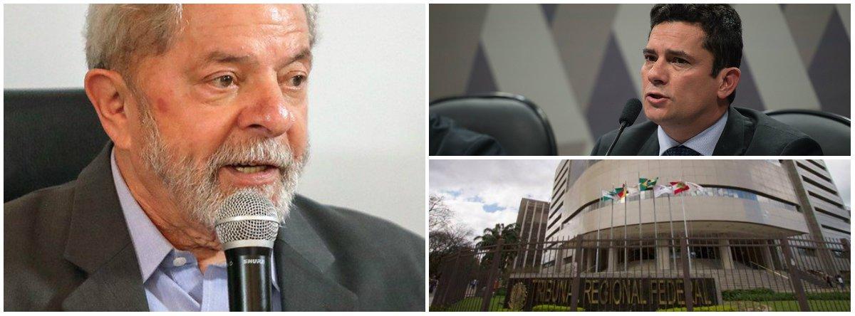"""Lula: """"Moro e o TRF-4 nos deram um 'pote de ouro'"""""""